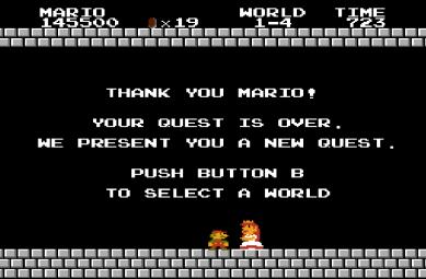 Super Mario 1 Win